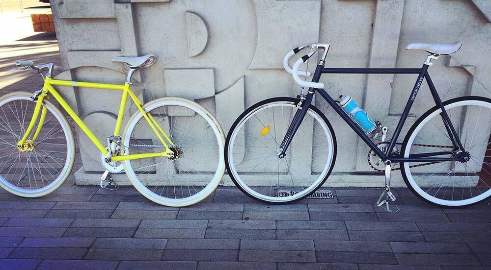 coworking con parking bicicletas