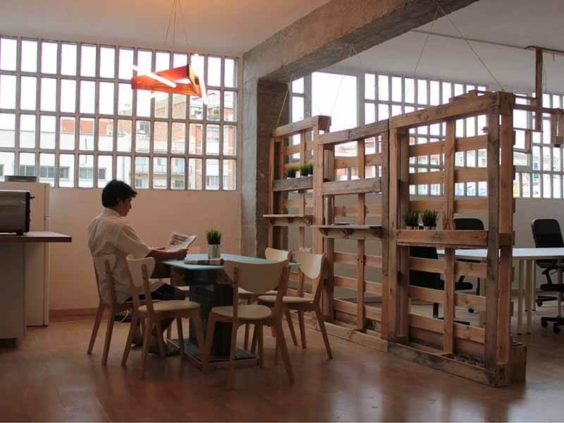 oficina sostenible