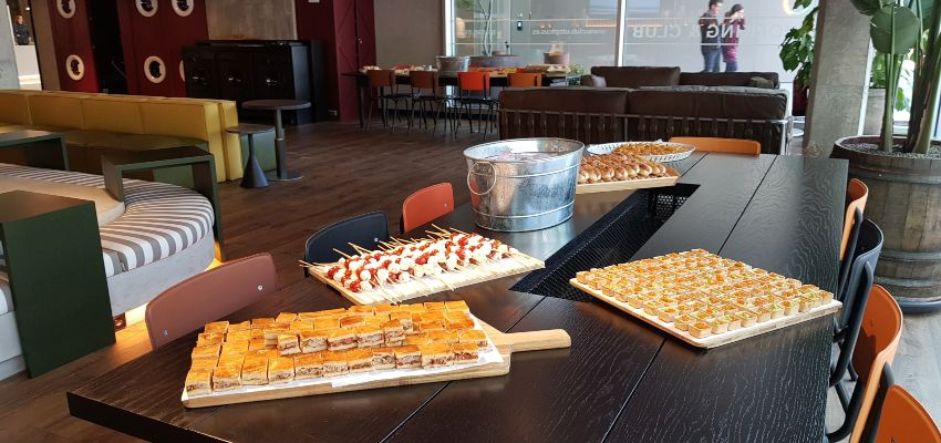Coworking catering ejemplo