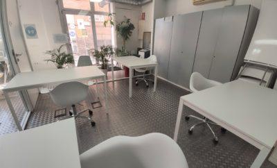 Oficina para hasta 4 personas